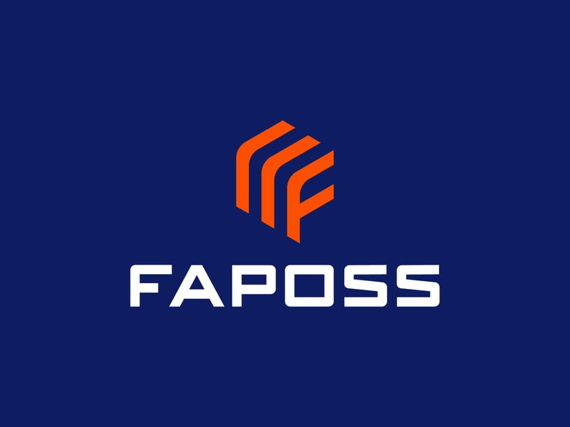 LOGO FAPOSS - LETTER F + STOCK