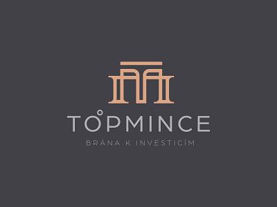 LOGO T+M TOPCOINE letter t letter letter m modern branding coins shop money coin line art creative logo logo design brand
