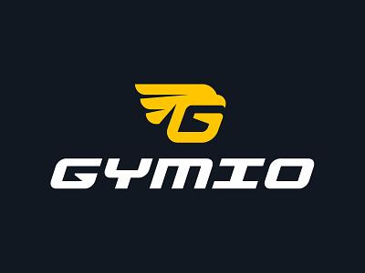 GYMIO-FITNESS LOGO fitness logo eagle letter g letter fresh dynamic creative modern branding design logo vector logo design brand fitness