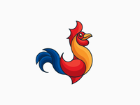 LOGO RED COCK