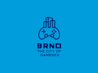 LOGO BRNO - THE CITY Of GAMES