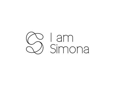 LOGO FOR COACH SIMONA fresh dynamic line art creative modern logo design branding logo letter s way coaching coach