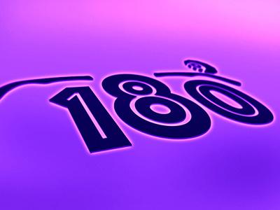 180  gradient icon