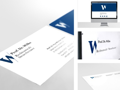 W-Identity supernow designstudio stationary letter modern minimal corporate design logo identity