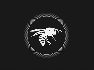Wespa ICON shiny animal logo label alcohol wesp icon