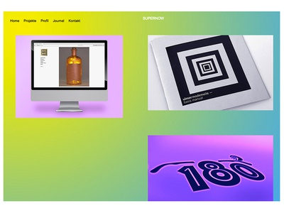 Projects on website swiss straight graphics colourful image reduced studiowork wedbesign gradient
