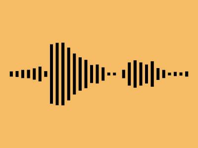 Soundefined v2 logo auditory imprint soundwaves lines audio playlist