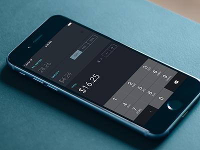 Tipsy - Tip Calculator App swift sketch calculator tip dark flat ios
