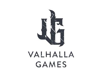 Valhalla Games Logo kubb logo