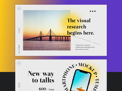 #Exploration - Presentation Concept layout pitch template pitch deck branding graphic design creative powerpoint template presentation design keynote presentation powerpoint