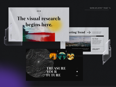 #Exploration - Typography and Layout - Flax Pitch Deck branding graphic design ui logo illustration powerpoint template presentation design design keynote business presentation powerpoint pitch