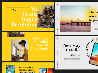 FLAX 1.0 MODERN PRESENTATION - PowerPoint Template personal layout
