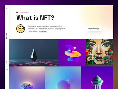 NFT Point Platform - Presentation PowerPoint Template cryptocurrency cryptoart art ux presentation powerpoint token modern ui crypto keynote ethereum pitch desk pitch slide nft