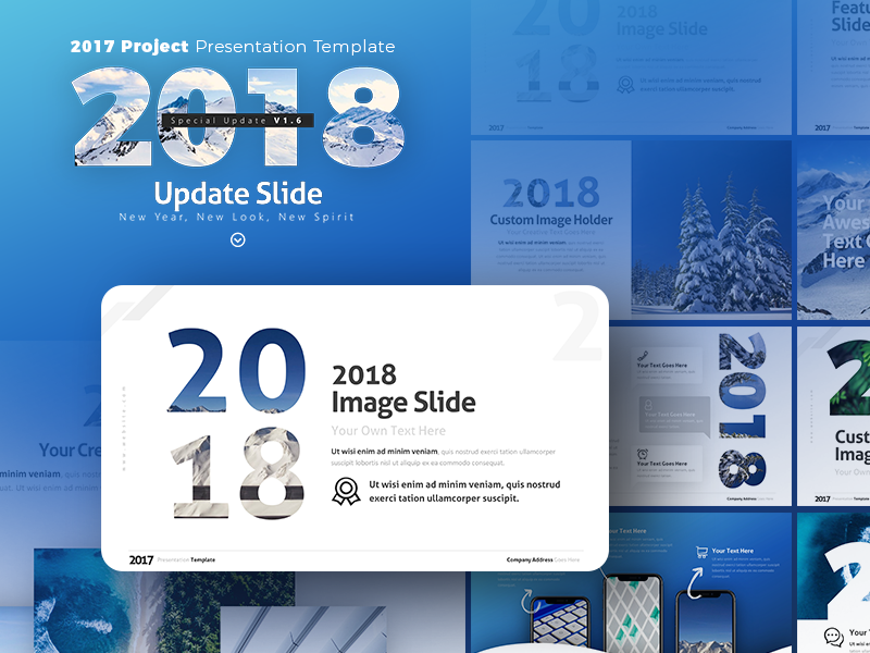 2017 project presentation template update 2018 by rrgraph