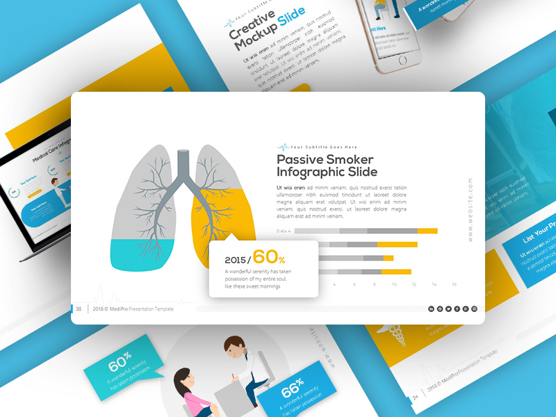 Medipro Medical Presentation Template By Rrgraph On Dribbble