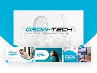 Grow-Tech Startup PowerPoint Presentation Template