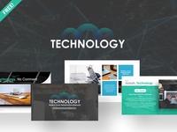 Free Technology Presentation Template