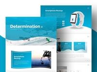 Determination PowerPoint Presentation Template