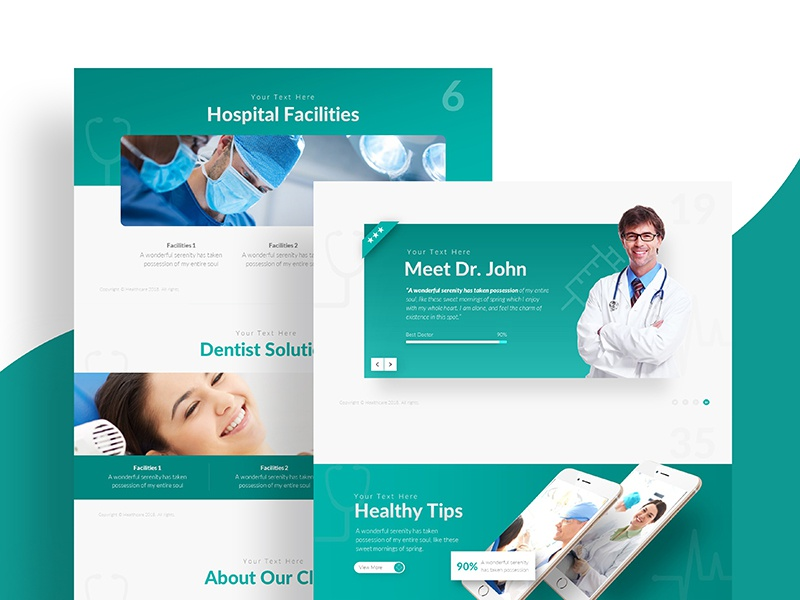 Healthcare Medical Powerpoint Presentation Template By Rrgraph