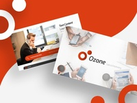 Ozone Sales & Marketing PowerPoint Presentation Template