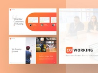 Coworking Business Presentation Template