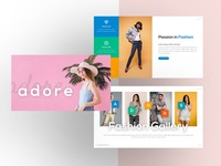 Adore – Fashion Powerpoint and Keynote Template