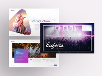 Euforia– Event Powerpoint and Keynote Template