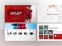 Streetwear – Fashion Powerpoint and Keynote Template
