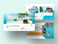 Tropical Travel Powerpoint Template