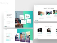 Deliverly – Logistic Powerpoint and Keynote Template