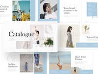 Catalogue –  Fashion Minimalist Powerpoint and Keynote Template