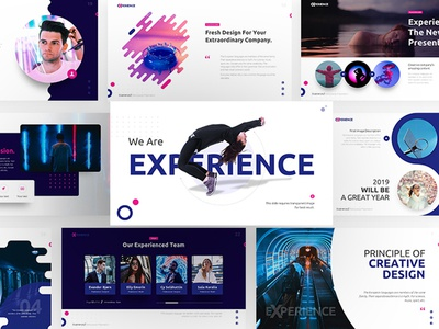 Experience – Attractive Powerpoint and Keynote Template