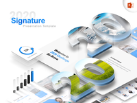 Signature: 2020 Multipurpose Presentation Template keynote template business corporate keynote professional template 2020 trend design trend 2020 powerpoint template presentation design presentation powerpoint