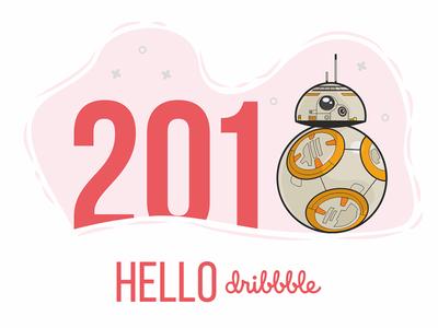 BB-8 Hello from sunny Jakku