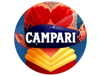 Campari girl (detail1)