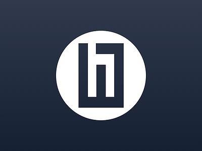 Personal Avatar signature black and white avatar favicon icon bold figure ground logo