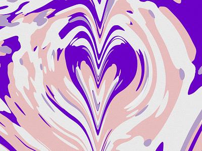 Digital Marbling II pattern distortion color skillshare organic trendy modern experiment