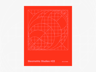 Geometric Studies #22 geometric grid grid design grids pattern abstract typography 1980s retro avant-garde poster vector geometric art blueprint digital duotone linear design line art minimalist
