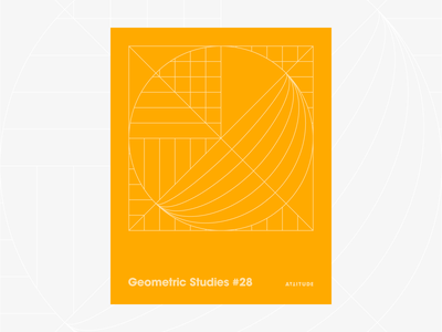 Geometric Studies #28 geometric grid grid design grids pattern abstract typography 1980s retro avant-garde poster vector geometric art blueprint digital duotone linear design line art minimalist