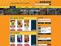 Ace Adventures Comics Website Design