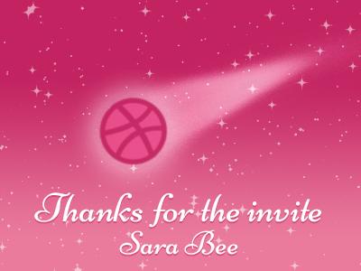 Thanks Sara Bee photoshop