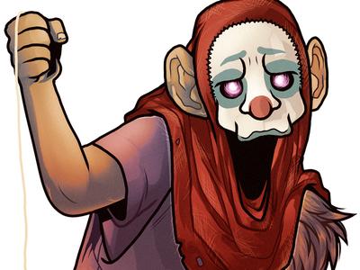 Sadsack character illustration mutant tmnt atomukk manga studio photoshop cartoon digital