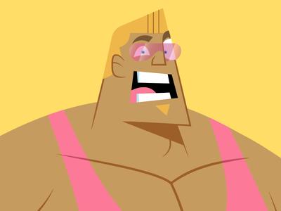 Bjorn 2.0 character design redesign cartoon illustrator vector illustration