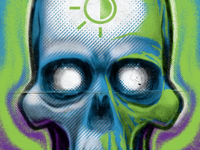 Phantasm! astute graphics halftone texture vintage illustrator vector illustration