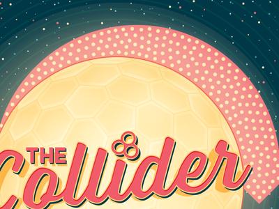 The Collider Hotel 2 of 2 astute graphics colliderscribe vintage illustrator vector illustration