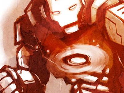 Ironman dribbble