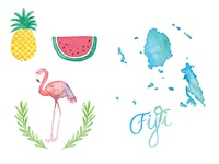 Fiji Illustrations