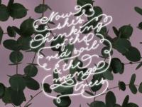 Lyrics + Typography