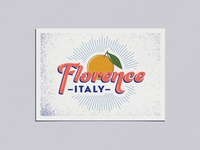 Adobe Live Florence Postcard