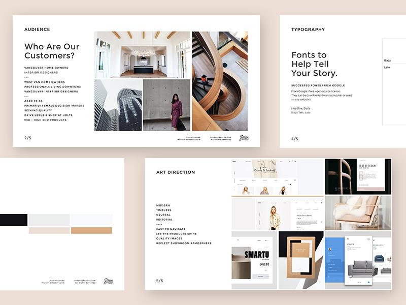 ARK Interiors Website